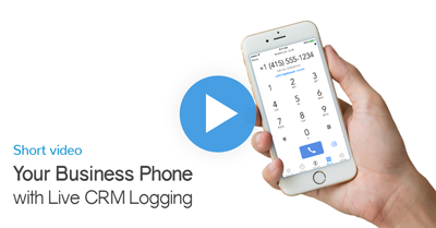 Short Video: Your Business Phone with Live CRM Logging